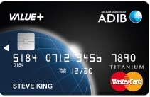 ADIB Visa Credit Card