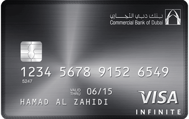 CBD Visa infinite credit card