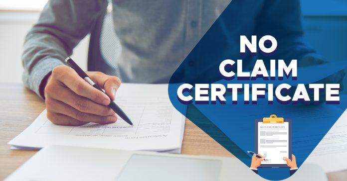 No Claim Certificate