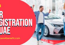 Car registration Dubai