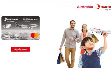 RAKBANK Air Arabia Platinum Credit card
