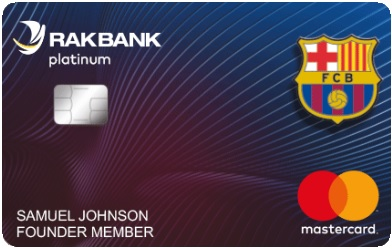 RAKBANK FC Barcelona Platinum Credit Card