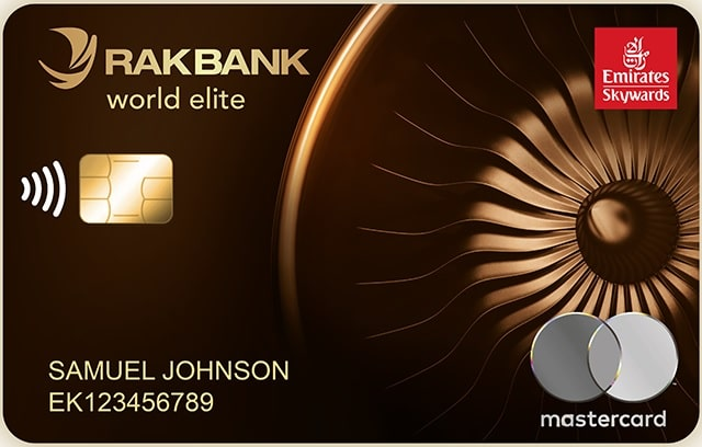 RAKBANK Emirates Skywards World Elite Mastercard