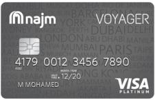 Najm Voyager Platinum Credit Card